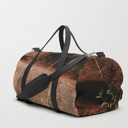 red rocks in the forest IV Duffle Bag