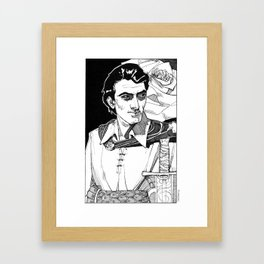 Lothario, Corwin from the Chronicles of Amber Framed Art Print