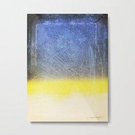 Reckoning of Cloudy Sunset Metal Print