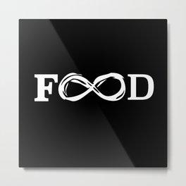 Food Metal Print