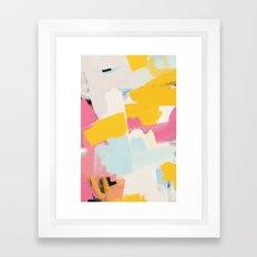 Palette No. Seven Framed Art Print