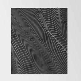 Minimal curves II Throw Blanket