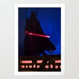 Vader Waits Art Print