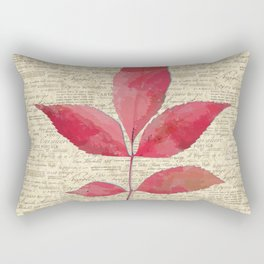 leaves. floral picture for home decor. Abstract Art. Wall art decorative 4 Rectangular Pillow