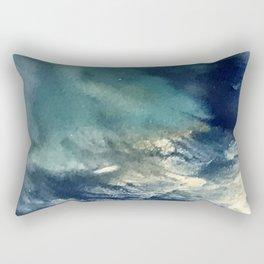 """Rumors, Darling...Just Rumors"" Abstract Painting Rectangular Pillow"