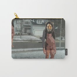 Beasts in the Snow Carry-All Pouch