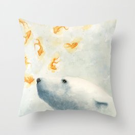 Try not to breath Throw Pillow