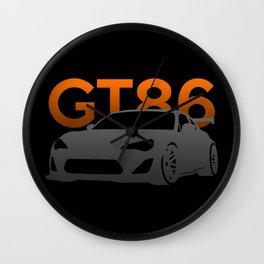 Toyota GT86 Wall Clock