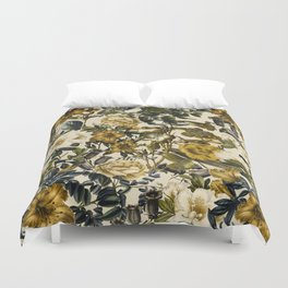 Warm Winter Garden Duvet Cover