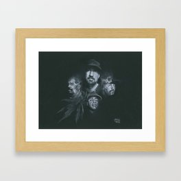 Stoned Raiders Framed Art Print