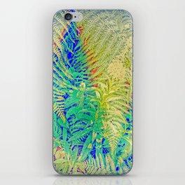 Fern and Fireweed 01 iPhone Skin