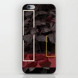 Burgundy Fall #society6 #decor #buyart iPhone Skin