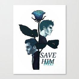 Sterek Save Me Print Canvas Print