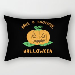 Halloween Costume Party Pumpkin Gift Rectangular Pillow