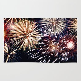 celebration fireworks Rug