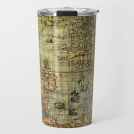 Vintage Old World Map Travel Mug