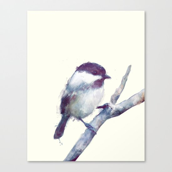 Bird // Trust Canvas Print
