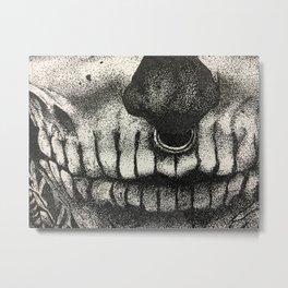 Zombie Boy Metal Print