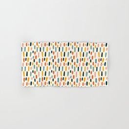Rainbow Confetti Pattern Hand & Bath Towel