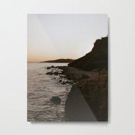 Sunset sea 2 Metal Print