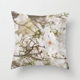 The Magnolia Tree Throw Pillow