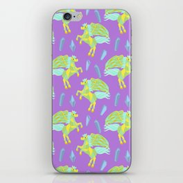 Pegasus in a Cosmic Sea of Gemstones iPhone Skin