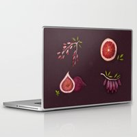fruits Laptop & iPad Skins featuring Fruits by Oilikki