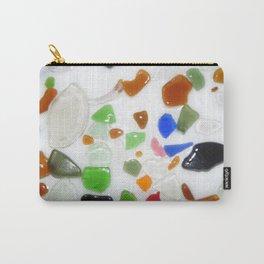Parti Colour Seaglass Carry-All Pouch
