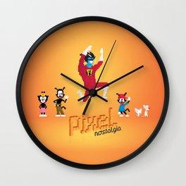 WB Pixel Nostalgia Wall Clock