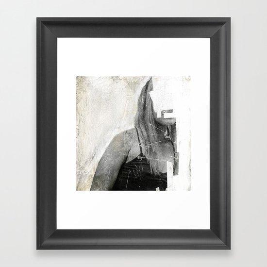 Faceless   number 03 Framed Art Print