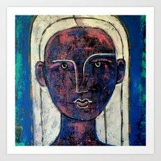 Pondering Dreams - It is all an illusion Painting by Robert EROD artist art Art Print