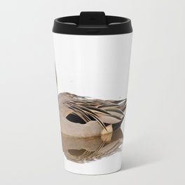 Reflections of a Northern Pintail Duck Travel Mug
