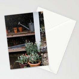 Spring Garden Shed Stationery Cards