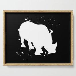 Rhino - Graphic Fashion Serving Tray