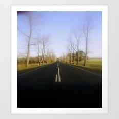 Avenue of Honour Art Print
