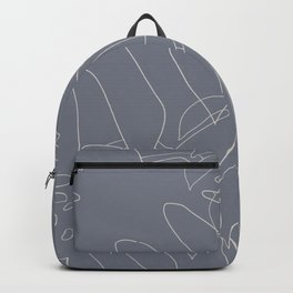 Monstera No2 Gray Edition Backpack