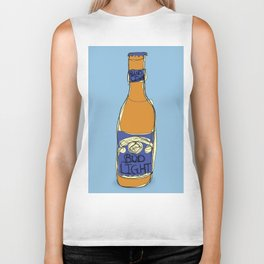 Bud Light Bottle Biker Tank