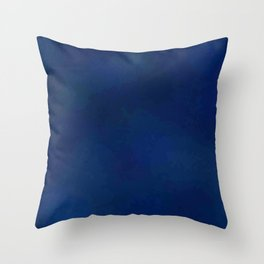 Color gradient and texture 64 dark blue Throw Pillow