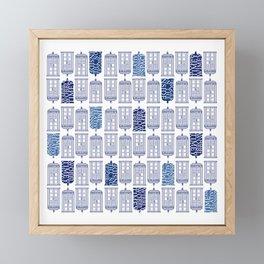 Tardis Tardis Tardis Framed Mini Art Print