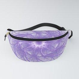 purple flower Fanny Pack