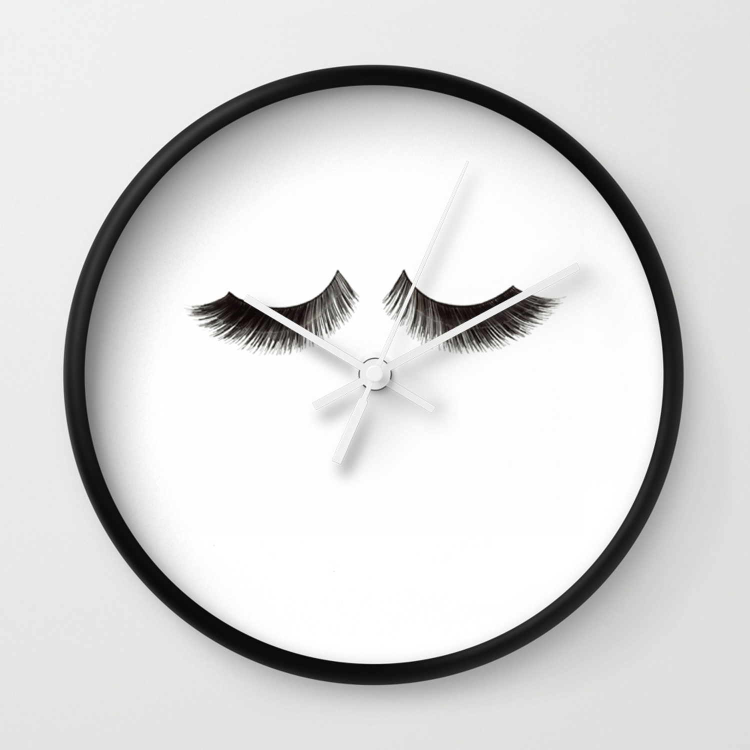 photograph relating to Printable Clocks known as Make-up Print Printable Artwork Make-up Prices Make-up Poster Eyelashes Print Design Wall Artwork Type Wall Clock