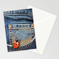 Lady Bug in My Pocket Stationery Cards