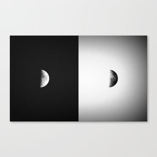 Waxing Crescent II  Canvas Print