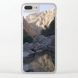 Wadi Shab, Oman Clear iPhone Case
