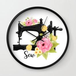 Sew Wall Clock