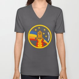 DogeCoin Up Rocket Unisex V-Neck