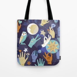 Mystical Tribes Tote Bag