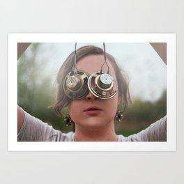 Choosing Blindness Art Print