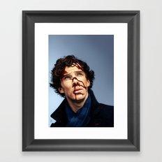 Not dead Framed Art Print