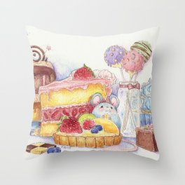Sweet Thieves Throw Pillow
